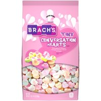 Brach's Tiny Conversation Hearts Valentine's Candy, 30oz Stand Up Bag