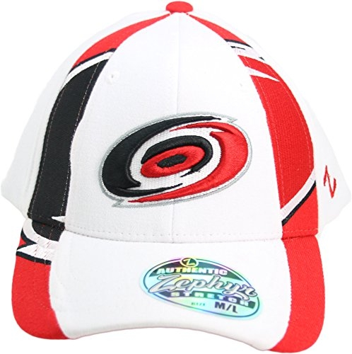 "NHL Zephyr Carolina Hurricanes ""Z Hat Collection"" Adult Flex Fit Cap Hat M/L"