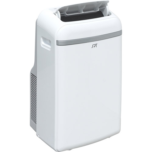 Sunpentown WA-1240H 12,000-BTU Room Portable Air Conditioner with Supplemental 11,000-BTU Heater