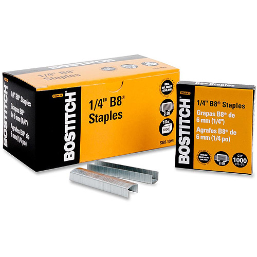 Bostitch B8 PowerCrown Chisel Point Staples