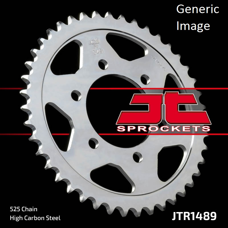 JT USA Steel Rear Sprocket 43T for Street KAWASAKI ZX600G...