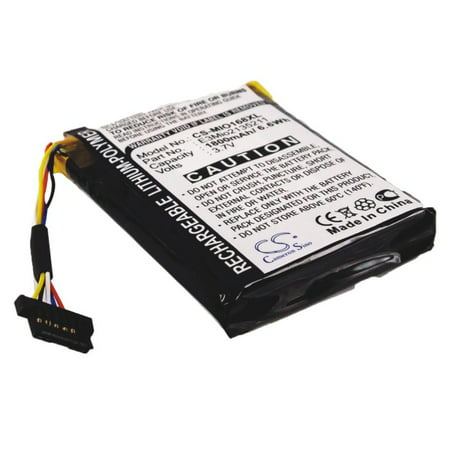 1800mAh High Capacity Battery Yakumo Delta 300, 300GPS, GPS 2L