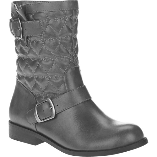 Faded Glory Girl's Quilted Riding Boots