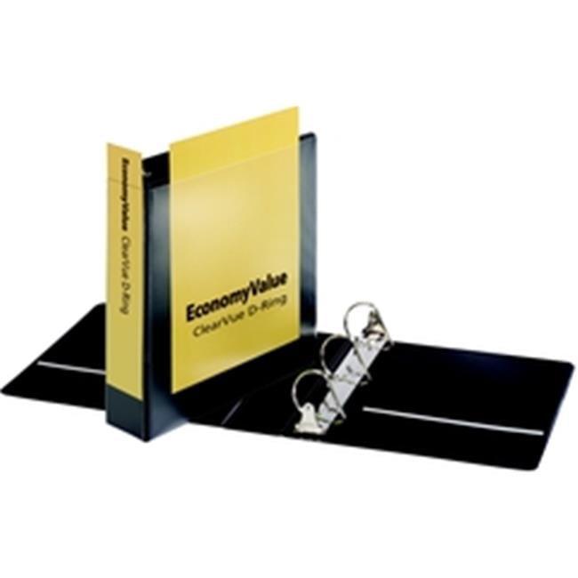 Cardinal EconomyValue ClearVue Slant-D Ring Binder 2 in w o Packaging