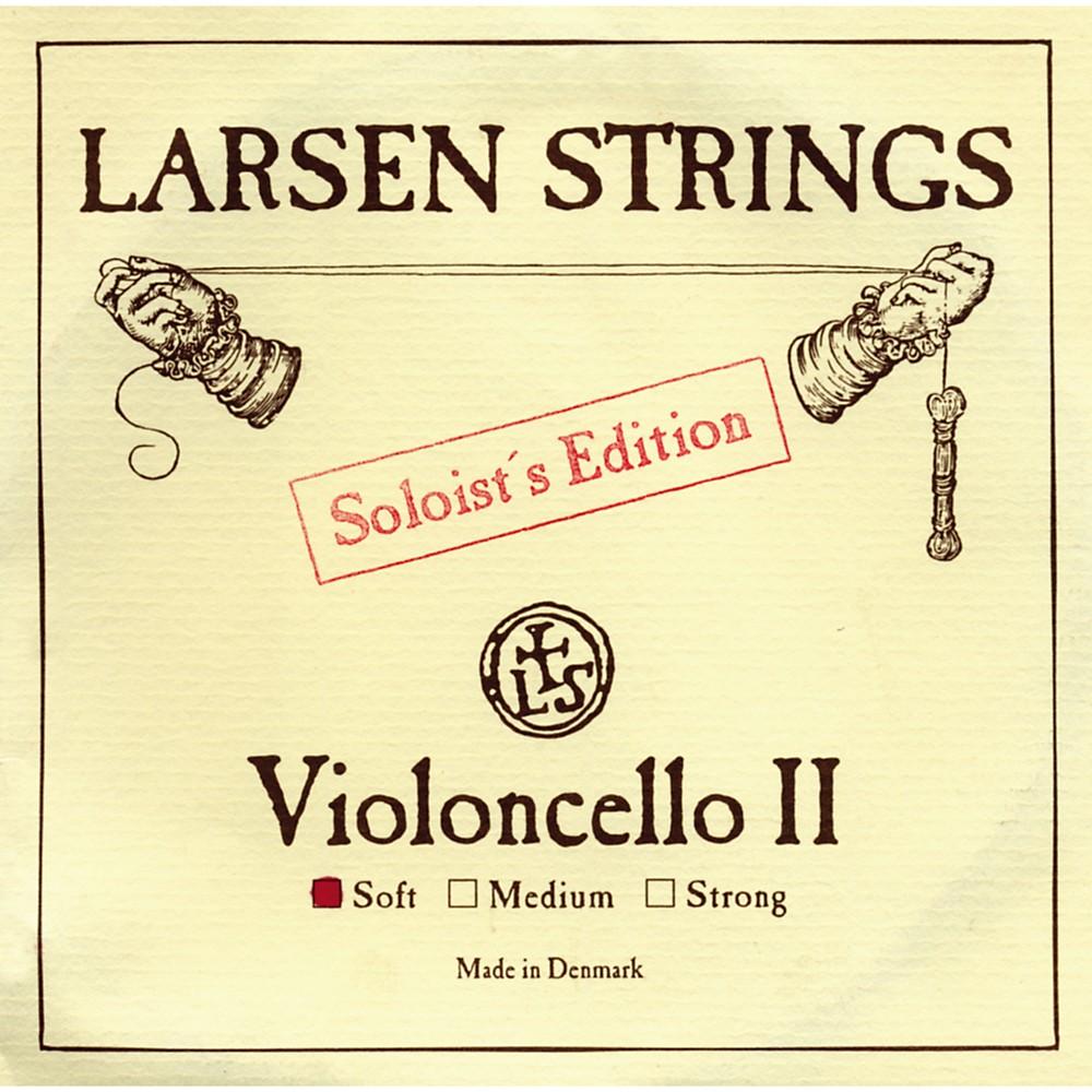Larsen Strings Soloist Series Cello Strings D, Soloist, Medium by Larsen Strings