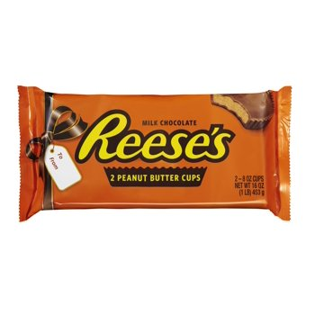 2-Count Reese's Holiday Peanut Butter Cups Milk Chocolate