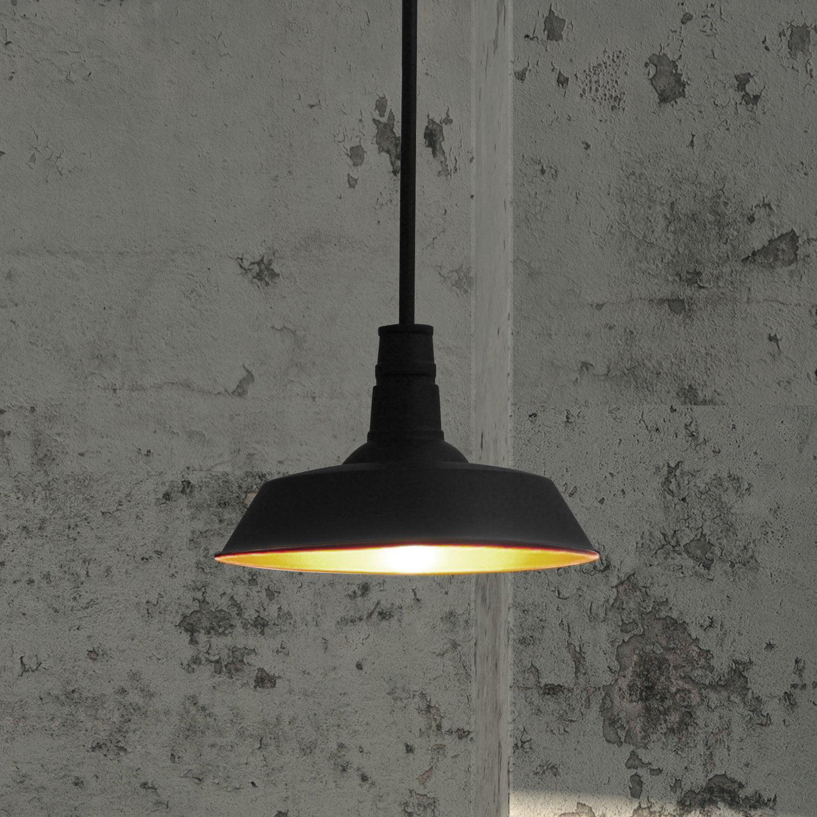 Zuo Modern Tin Ceiling Lamp - Rust