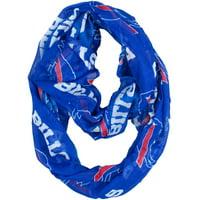 Little Earth - NFL Sheer Infinity Scarf, Buffalo Bills