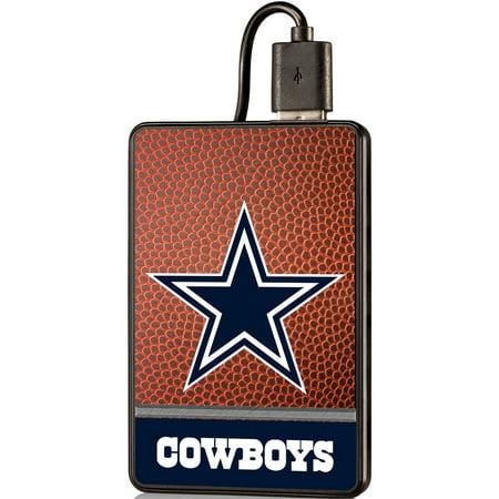 Dallas Cowboys 2000 mAh Credit Card Powerbank - No (Dallas Cowboys Credit Card)