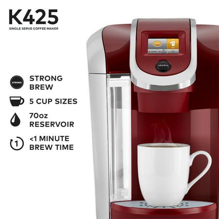 Keurig K425 Single Serve K-Cup Pod Vintage Red Coffee ...