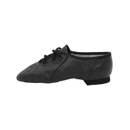 Bloch Jazzsoft Black Leather Dance Shoe - 8M