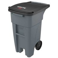 RUBBERMAID Trash Can,Free-Standing,Roll Out,32 gal. 1971941