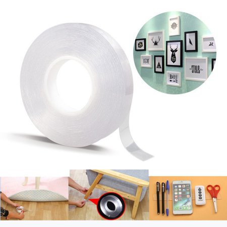 1-5m Multifunctional Nano Double-Sided Adhesive Tape Traceless Removable Tapes ()