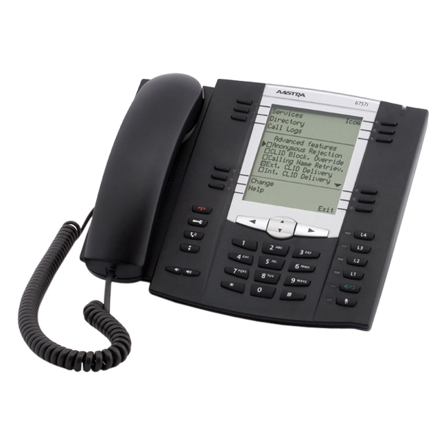 IMSOURCING A1757-0131-10-01 AASTRA 6757I VOIP PHONE
