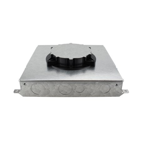 Wiremold Rfb4E Recessed Floor Box, Compatible W/ Evolution Series Covers