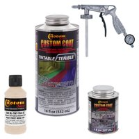 36521 Frost Beige T84 - Custom Coat Urethane Spray-On Truck Bed Liner, 0.21 Gallon - With Applicator Spray Gun