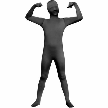 Black Skin Suit Child Halloween Costume