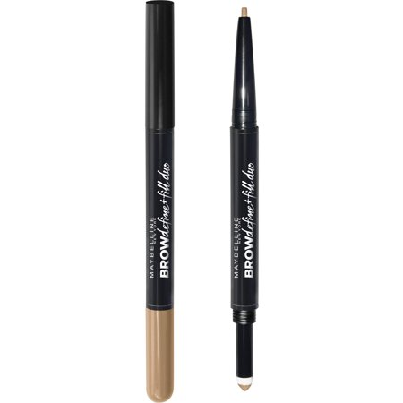 Maybelline Brow Define + Fill Duo Makeup, Blonde, 0.021 oz.