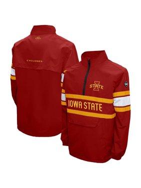 Iowa State Cyclones Alpha Quarter-Zip Jacket - Cardinal