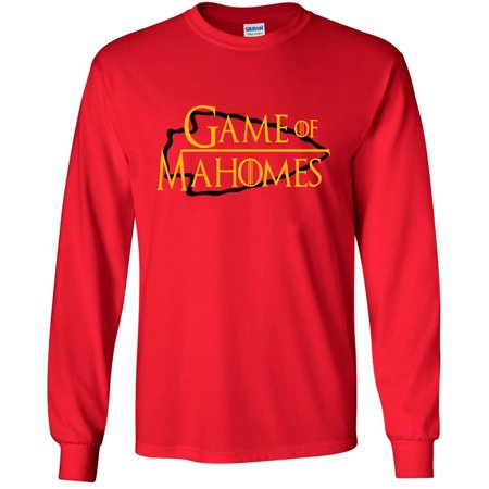 LONG SLEEVE RED Patrick Mahomes Kansas City Chiefs