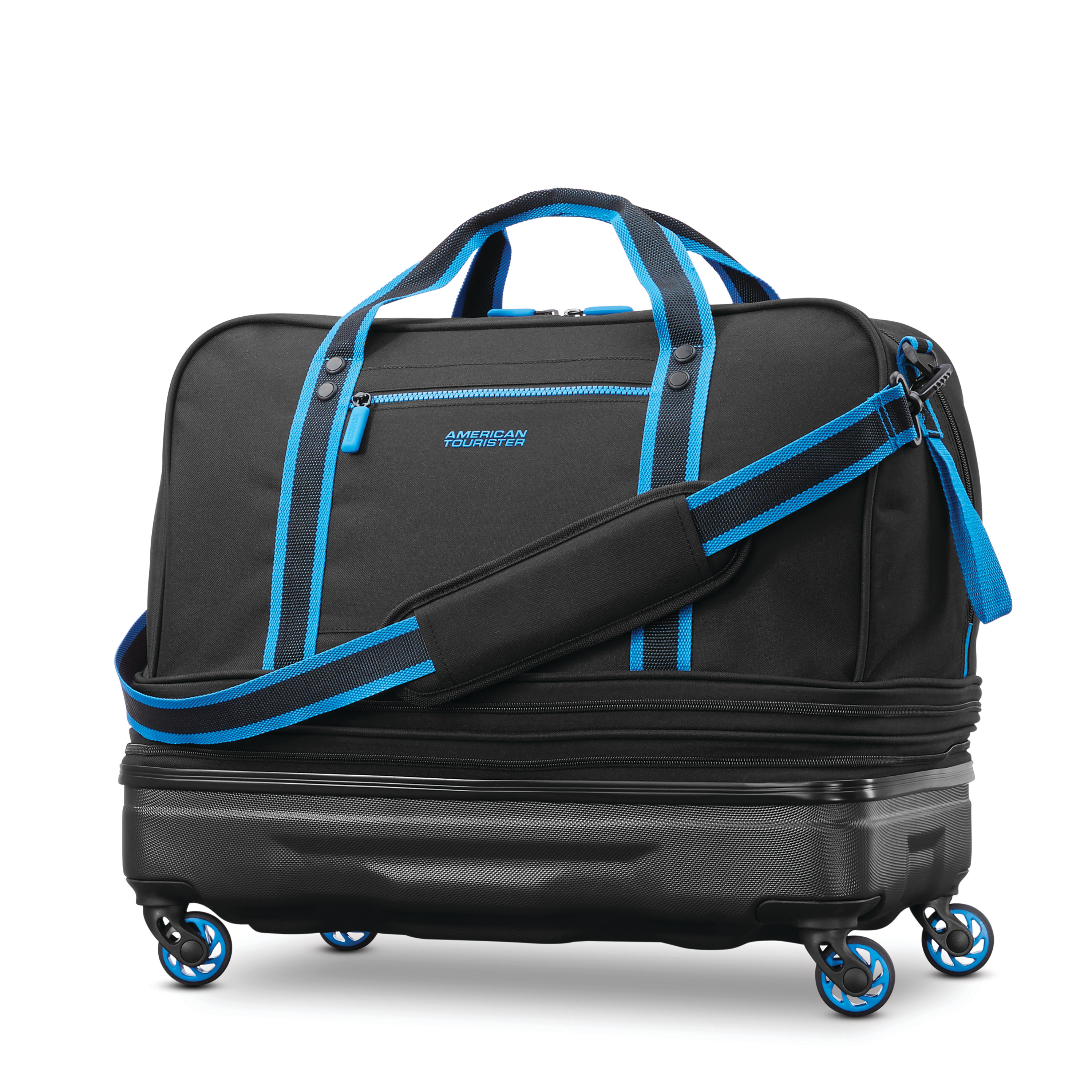 American Tourister Hybrid Rolling Duffel (expandable)