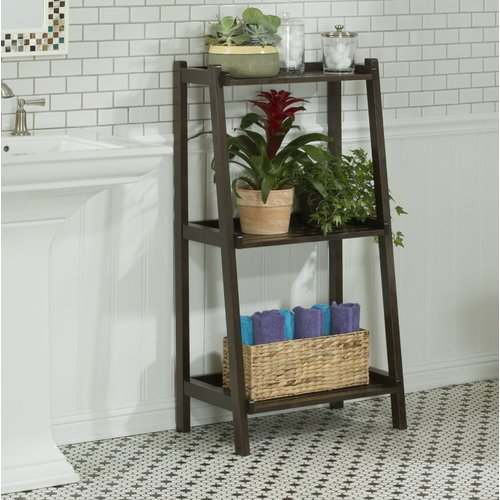 Gracie Oaks Pagedale Ladder Bookcase