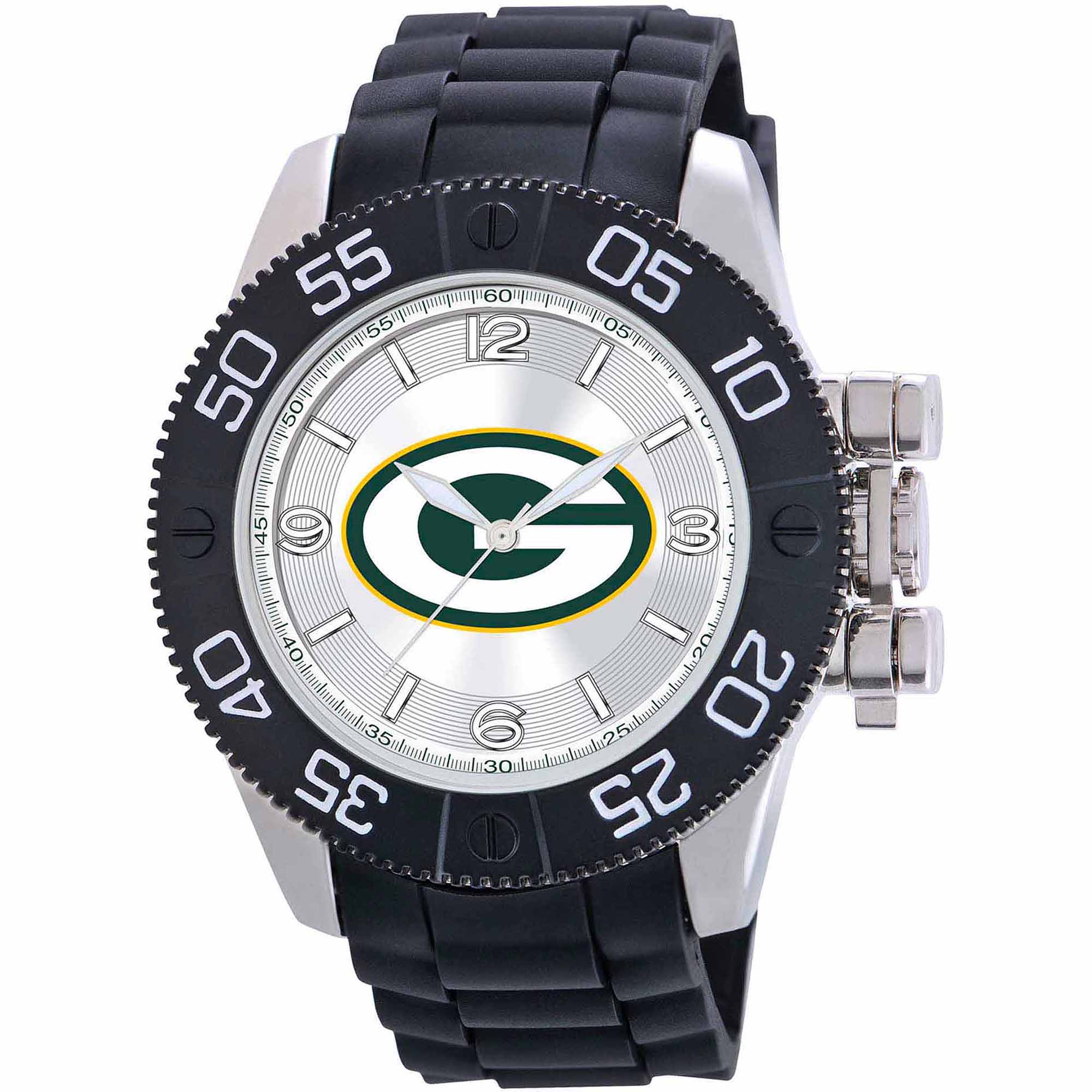 Game Time NFL Men's Green Bay Packers Beast Series Watch
