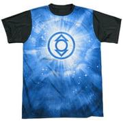 Green Lantern - Indigo Energy - Short Sleeve Black Back Shirt - Medium