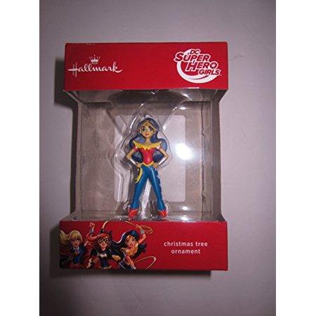 Hallmark DC Comics Super Hero Girls Wonder Woman Christmas Ornament](Superhero Ornaments)