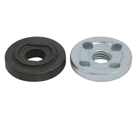 Electrical Inner Outer Flange Nut Spare Parts for Bosch GWS6-100 Angle Grinder - image 1 of 4