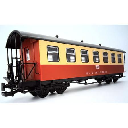 Passenger Coach Red Hsb Harz G Scale Train Car European Sty