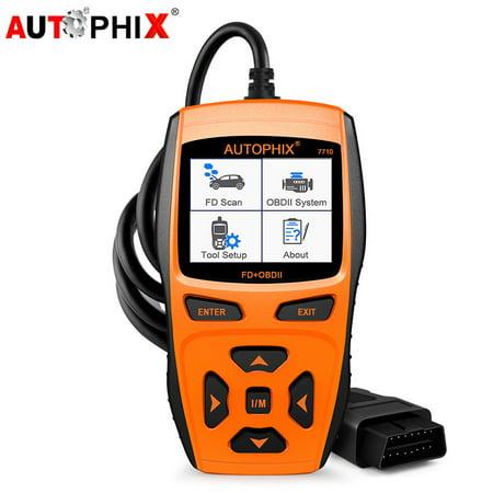 Autophix 7710 OBD 2 Scanner ABS Airbag for Ford Car EPB DPF Regeneration Oil Light Reset SAS BMS TPMS OBDII Automotive  Diagnostic Scan