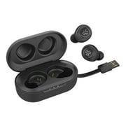 JLab Audio JBuds Air True Wireless Signature Bluetooth Earbuds + Charging Case - IP55 Sweat Resistance - Bluetooth 5.0 Connection - 3 EQ Sound Settings: JLab Signature, Balanced, Bass Boost