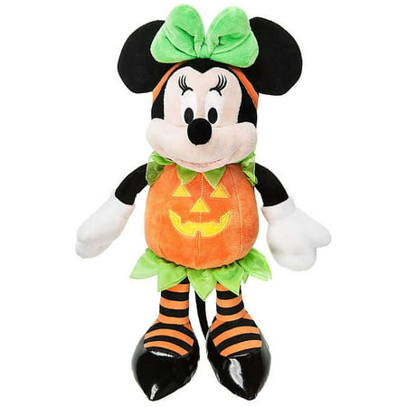 Disney Halloween Minnie Mouse Plush [Pumpkin] (Disney Tv Schedule For Halloween)