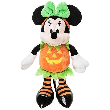 Disney Halloween Minnie Mouse Plush [Pumpkin] - Old Disney Halloween Shows