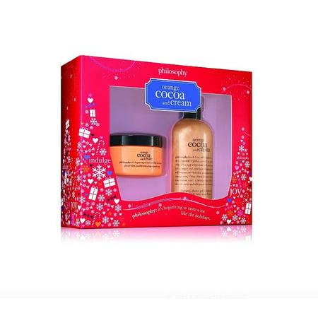 Philosophy Orange Cocoa And Cream Gift Set for Women, 2 Pc