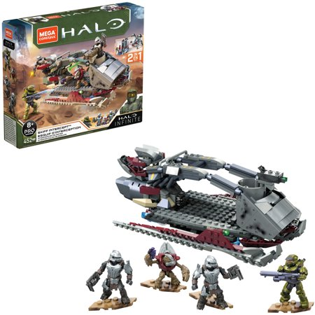 Mega Construx Halo Skiff Intercept Vehicle Halo Infinite Construction Set