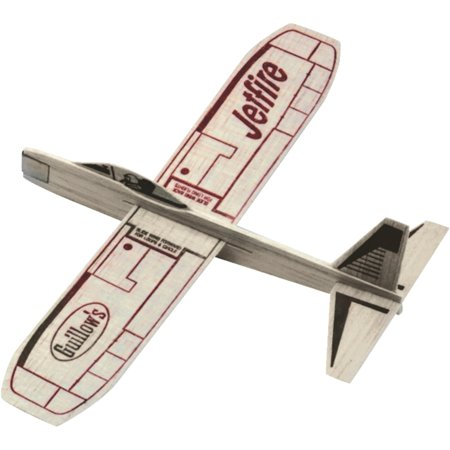 Guillow's Jetfire Hand Launched Glider Balsa Wood