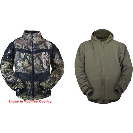 Rivers West  3 Seasons System Jacket Realtree Edge Camo 2Xlarge