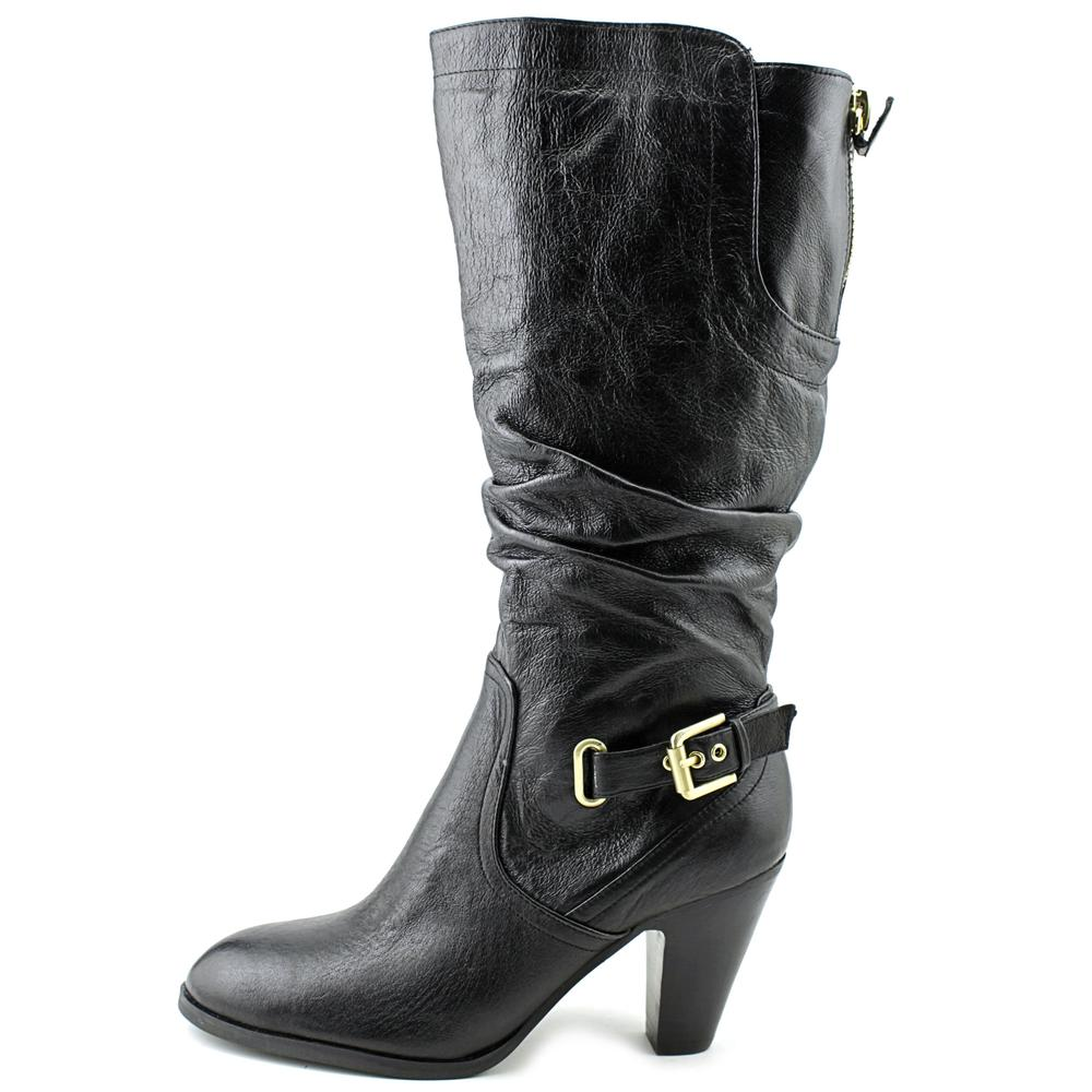 Guess Mallay Wide Calf Women  Round Toe Leather  Knee High Boot