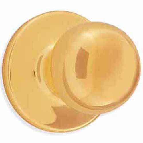 Kwikset 94880-367 Bright Brass Polo Dummy Knob