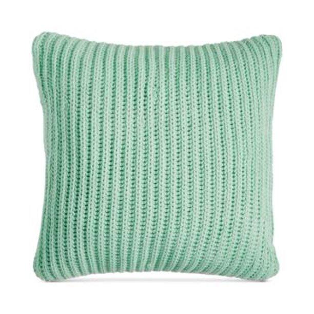 Charter Club Knit Throw Pillow 20 Mint Green Damask Designs Walmart Com Walmart Com