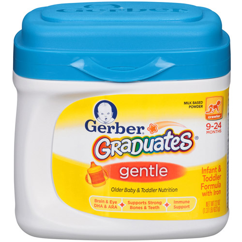 Gerber Graduates Soothe Non-GMO Powder Older Baby and Toddler Formula, 22 Ounce, 3 Count