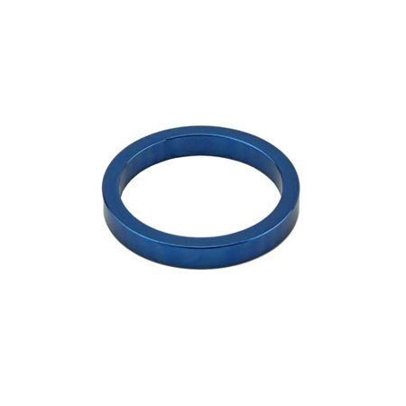 Headset Spacer, 1-1/8in x 5mm, Blue