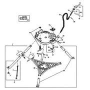 Ridgid 632-41065 Tristand Chain Vise Chain Link Screw
