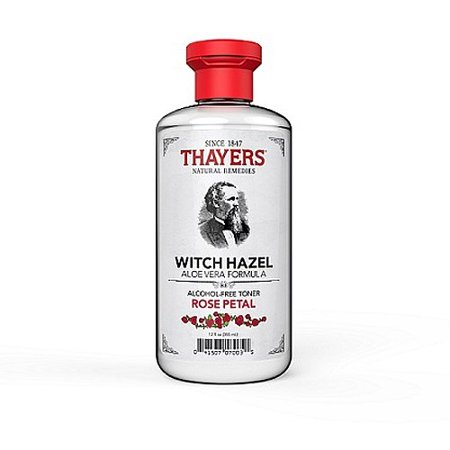 Thayers Witch Hazel Aloe Vera Toner, Rose Petal, 12 fl oz (Disney Halloween Witch Hazel)