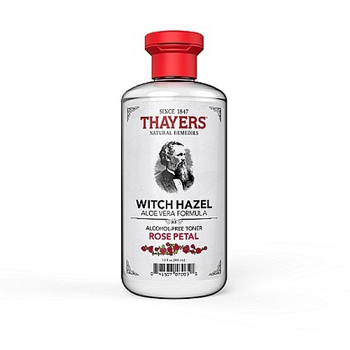 Thayers Witch Hazel Rose Petal Toner, 12 fl oz