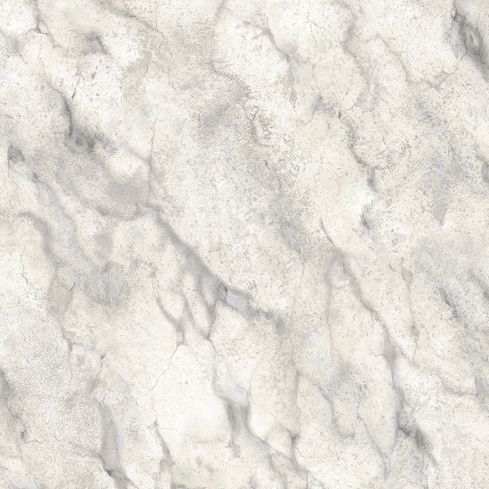Norwall Wallcoverings  TX34845 Texture Style 2 Calacatta Marble Wallpaper Grey, Blue