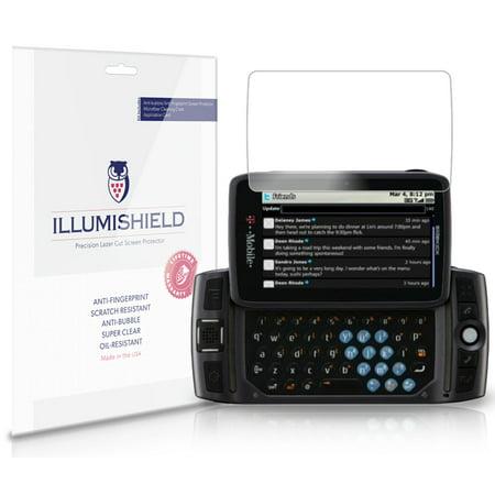 iLLumiShield Anti-Bubble/Print Screen Protector 3x for Sharp Sidekick LX 2009 ()