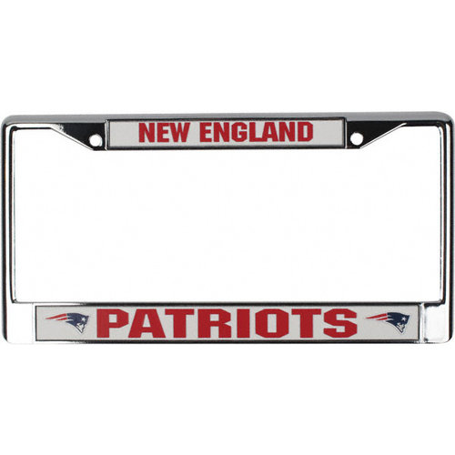 NFL - New England Patriots Chrome License Plate Frame